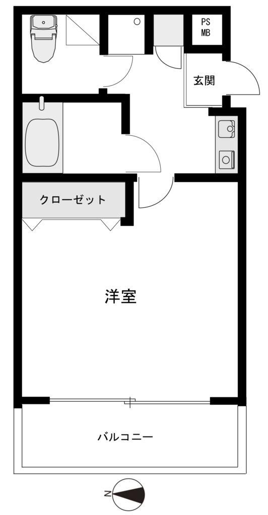 パサージュ法光寺 3階の画像(7枚目)です